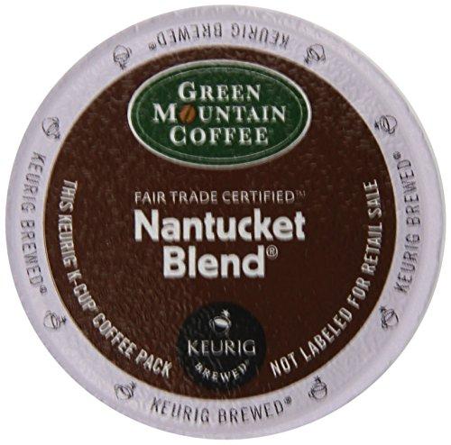 Green Mountain Coffee Nantucket Blend, Medium Roast, 24-Count -0.33 oz- K-Cups for Keurig Brewers (Pack of 2)