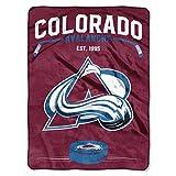 NHL Colorado Avalanche 'Inspired' Raschel Throw Blanket, 60' x 80'