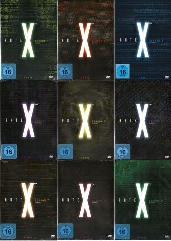 Akte X - Staffeln 1-9 (59 DVDs)