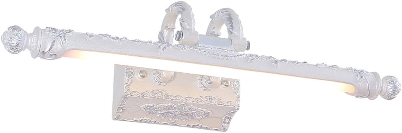 badezimmerlampe Badezimmer LED Makeup Schreibtisch Wasserdicht Anti-fog Spiegel Scheinwerfer Schminklicht (Farbe   B-9W 68CM)