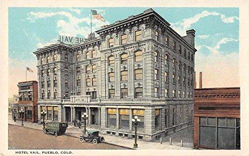Pueblo Colorado Hotel Vail Antique Postcard J53466