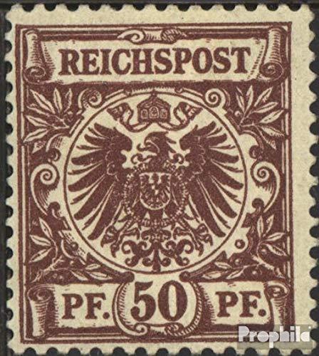 Prophila Collection alemán Imperio 50d examinado 1889 dígitos/águila Imperial (Sellos para los coleccionistas)