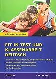 Fit in Test und Klassenarbeit Deutsch - 5./6. Klasse Gymnasium