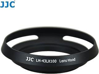 JJC LH-43LX100 - Parasol (Alrededor Panasonic Lumix DMC-LX100 Leica D-Lux (Typ 109) Negro Metal 65 cm 64 cm)