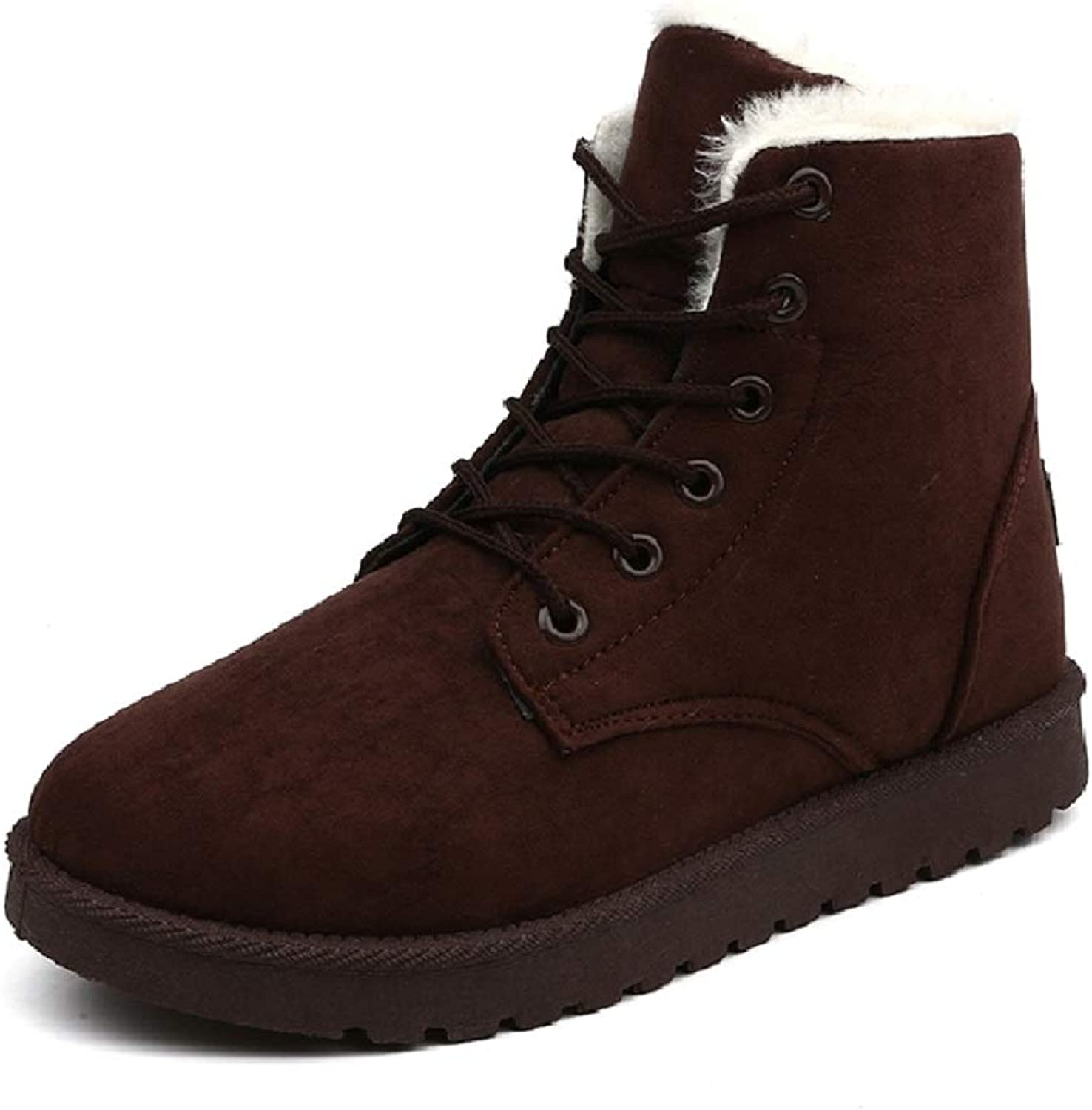 Women's Waterproof Winter Snow Boots New European and American Street Short Boots with Large Size Plus Cotton Warm Women's shoes