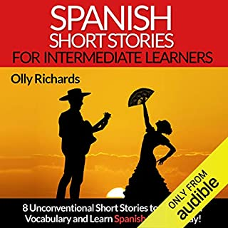 Spanish Short Stories for Intermediate Learners audiobook cover art