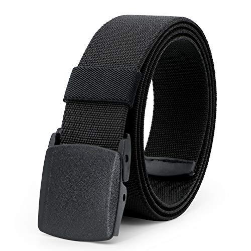 Elastic Stretch Belt for Men Breathable Sports Outdoor Belt,JasGood 3.8cm...