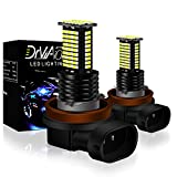 H8 H9 H11 LED Fog Light Bulbs 6000K Xenon White CSP Chips 7000LM