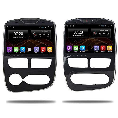 KLL 10.2' inch Android 7.1/8.1 2 din car no DVD Multimedia for Renault Clio Octa Core Car Radio GPS Navigazione Stereo Audio navi Video
