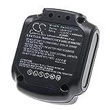vhbw Batería Recargable Compatible con Black & Decker BDCD112, BDCD12, BDCDD12, BDCDD12K, BDCDD12KB Herramientas eléctricas (2500 mAh Li-Ion 12 V)