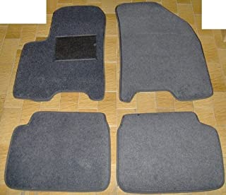 Accesorios para coche cubierta de coche mini cubierta de la mitad del coche DAEWOO KALOS en color silver exclusivo en Tyvek con bolsas de almacenamiento