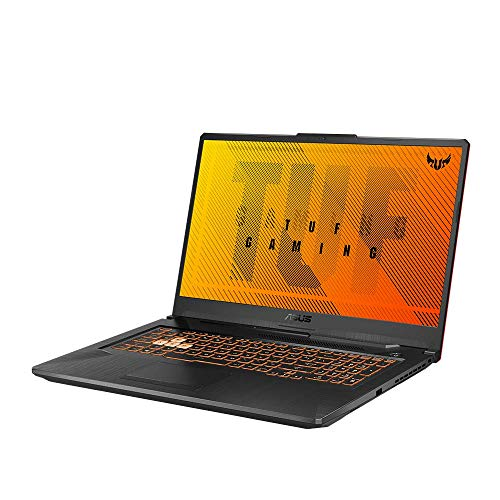 ASUS TUF Gaming A17 FA706IU (90NR03K2-M02460) 43,9 cm (17,3 Zoll, Full HD, 120Hz) Gaming Notebook (AMD R9-4900H, NVIDIA GeForce GTX1660 Ti (6GB), 16GB RAM, 512GB SSD, Windows 10) Bonfire Black