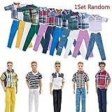 Aeromdale T-Shirt et Pantalons, Ken Vêtements Faits à la Main pour poupée de 27,9 cm(11.5inch)