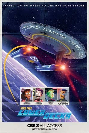 Star Trek : Lower Decks – U.S Movie Poster Plakat Drucken Bild - 30.4 x 43.2cm Größe Grösse Filmplakat