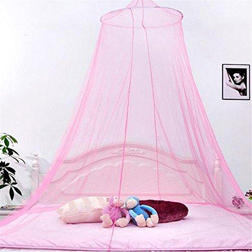 Mosquitera, Cama Colgante YouGer, con Dosel, Juego para niños, Tienda, cúpula al Aire Libre, Castillo Princess (Rosa)