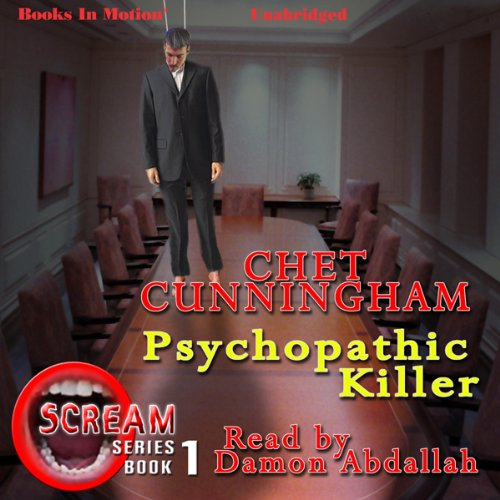 Psychopathic Killer audiobook cover art