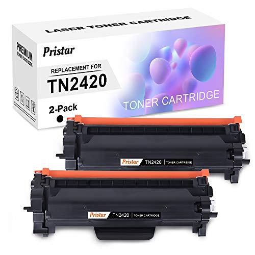 Pristar Cartucce Toner Compatibile per Brother TN-2420 TN2420 Cartuccia di Toner per Brother MFC-L2710DW L2730DW L2750DW L2710DN, HL-L2310D L2350DW L2357DW L2375DW L2370DN, DCP-L2510D L2530DW L2550DN