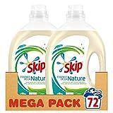 Skip Essence de la Nature Lessive Liquide Ecologique Ecolabel (Lot de 2x36 Lavages)