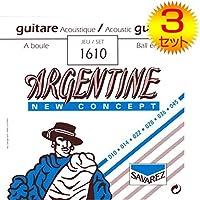 【3セット】SAVAREZ/サバレス 1610 [10-45] ボールエンド ジャズギター弦
