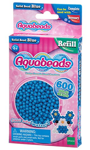 Aquabeads 32568 Blaue Perlen - Nachfüllset