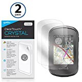 Garmin eTrex Touch 35t Protector de pantalla, BoxWave [ClearTouch Crystal (2-Pack)] HD película piel – Protege de arañazos para Garmin eTrex Touch 35t, Touch 35, Touch 25