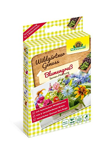 Neudorff WildgärtnerGenuss Blumengruß 2 x 2 g