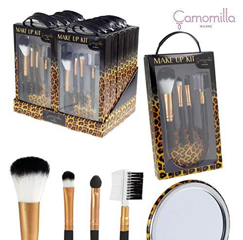 Camomilla Lot de 5 pinceaux de maquillage