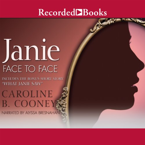 Janie Face to Face (novel) and What Janie Saw (bonus short story) audiobook cover art