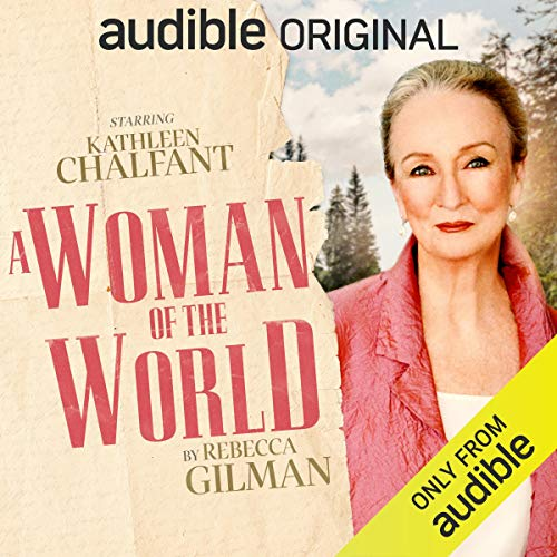 A Woman of the World audiobook cover art