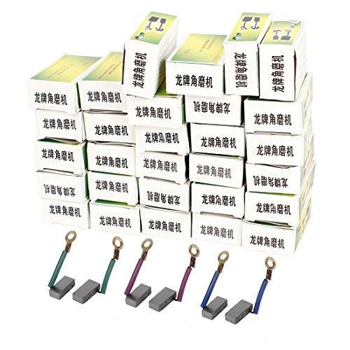Aexit Elektrowerkzeug Winkelschleifer Motor Kohlebürsten 14 x 6 x 4mm 30 Paare (4c690de2a863a84eb7ae55ca7974ed1a)