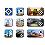 Hamburger SV HSV Magnet 9er Set Hamburg, 29982