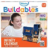 STEM EDUCATIONAL DIY TOY FOR AGES 8-99 - BUILD your own Infinity Calendar with step-by-step instructions, LEARN with application of STEM concepts & EXPLORE the world of science with fun challenges! ABOUT BUILDABLES BY SKILLMATICS - It is a range of n...