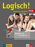 LOGISCH NEU A1 TESTHEFT+AUDIO CD: Testheft A1 mit Audio-CD