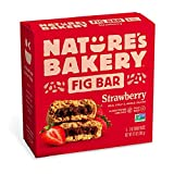 Includes 6 Twin Packs of Nature's Bakery Whole Wheat Strawberry Fig Bars Perfect for active, on-the-go nutrition or a healthy treat for kids' lunches and after-school snacks Made with Stone Ground Whole Wheat, Real Figs & Strawberries Soy Free / Dair...