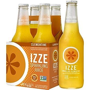 IZZE Sparkling Juice Clementine 12 Fl Oz  pack of 4