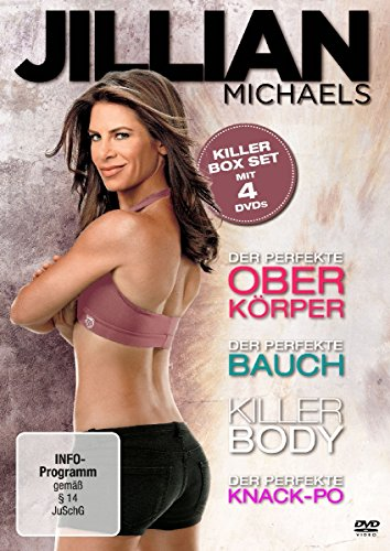 Jillian Michaels - Killer Box Set [4 DVDs]