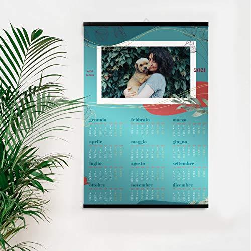 Calendario personalizzato 2021 con le tue foto, Alta qualità, su carta fotografica e...