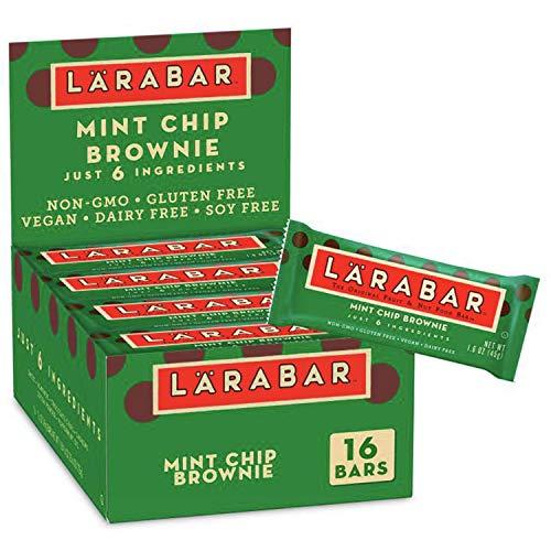 Larabar Gluten Free Bar, Mint Chip Brownie, 16 ct, 25.6 oz