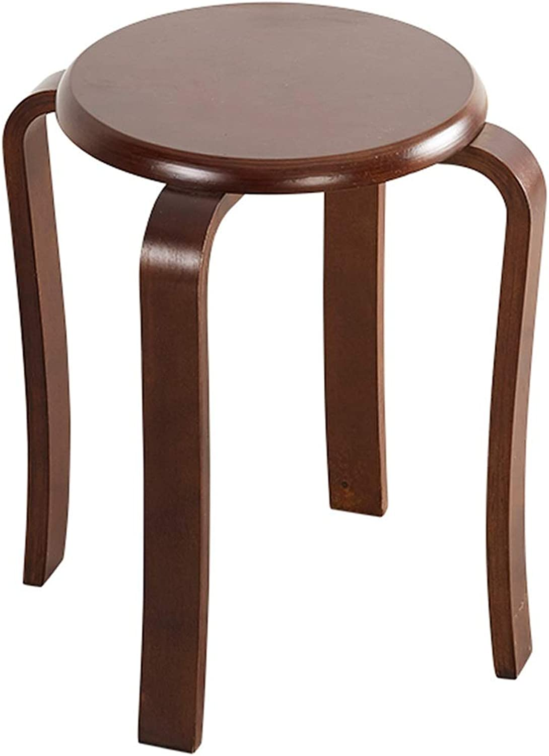 Solid Wood Round Stool Home Dining Table Stool Fashion Creative Modern Minimalist Adult Restaurant Small Chair