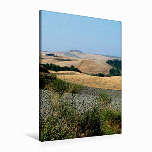 Calvendo Premium Textil-Leinwand 60 cm x 90 cm hoch, Crete   Wandbild, Bild auf Keilrahmen, Fertigbild auf echter Leinwand, Leinwanddruck: In der Toskana Orte Orte