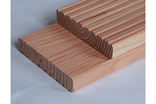 Muster Terrassendiele Douglasie, 28 x 145 mm (ab 3,75 €/lfm)