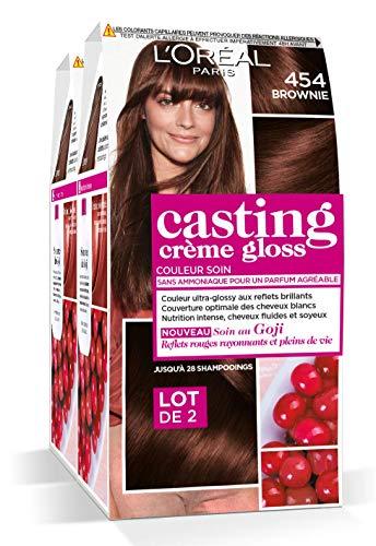 L'Oréal Paris Casting Crème Gloss Coloration Ton Sur Ton Sans Ammoniaque 4.54 Brownie