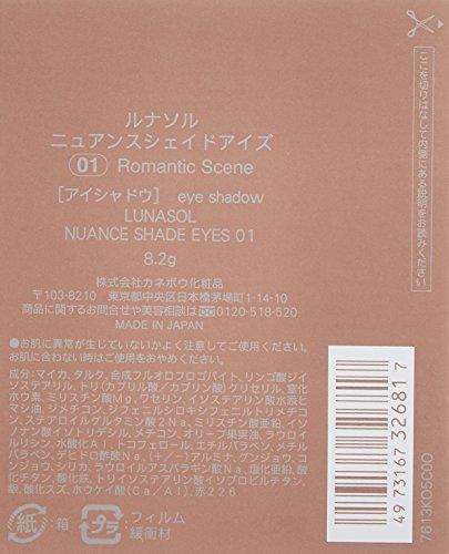 カネボウルナソル『ニュアンスシェイドアイズ#01』
