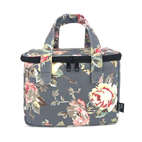 WONDERFUL FLOWER Lunch Box Cooler Bag lunch bag flower (G06Gray)