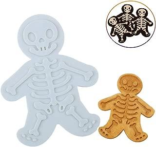 gingerbread man skeleton cookies