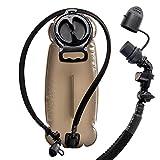 Filtro Hidratación Plegable Vejiga 3 Litros Prueba De Fugas Depósito De Agua Almacenamiento Portátil Duradero De Agua BPA Uso Como Botellas De Agua Para Ciclismo Escalada Ciclismo Ejecución De Maratón