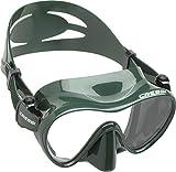 Cressi F1 Premium Tauchmaske, grün
