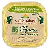 almo nature Bio Organic Maintenance con Pollo & Verdue Cibo Umido per Cani Adulti - Pacco ...