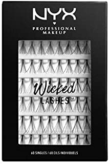 f6253175e5a Nyx Professional Makeup Wicked Lashes Singles, 0.18 Ounce