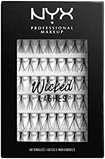 NYX PROFESSIONAL MAKEUP Wicked Lashes Singles, 0.18 Ounce